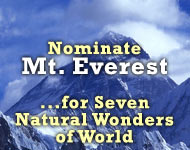 New seven wonders of Nature, Mount Everest