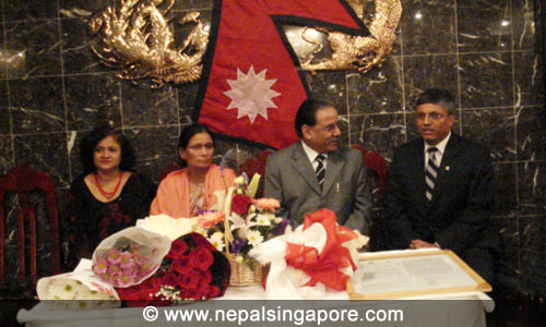 Prime Minishter Prachanda in New York Dinner