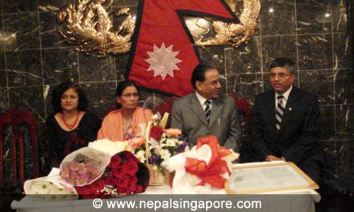 Prime Minishter Prachanda in New York Dinner