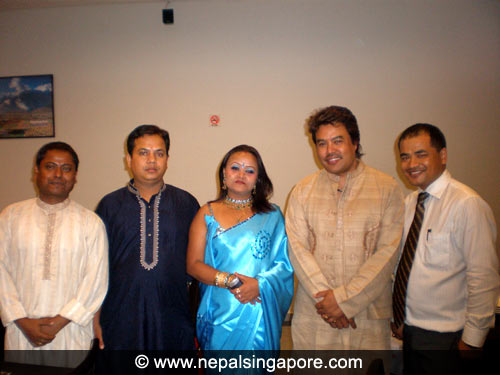 Gazals with Anand Karki in Singapore