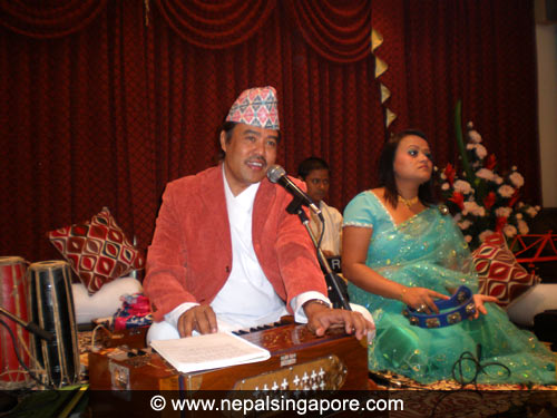 Anand Karki and group live gazals in Singapore