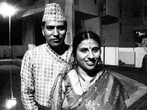 Dikesh weds Sanjila